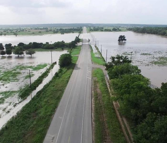 Storm Damage Contaminated Flood Waters Contain Pathogens and Dangerous Debris