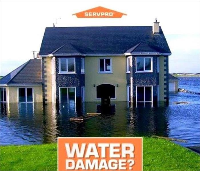 Water Damage Water Damage strikes fast...So does SERVPRO!