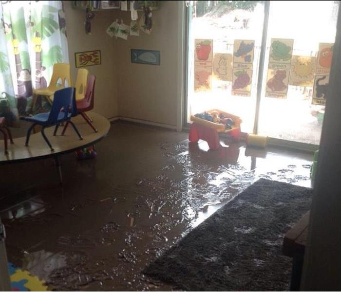 Water Damage Contaminated Water Damage - What to do until help arrives.